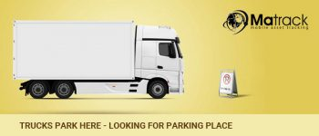 Trucks Park Here-Looking For A Parking Space?