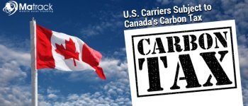 U.S. Carriers Subject To Canada's Carbon Tax