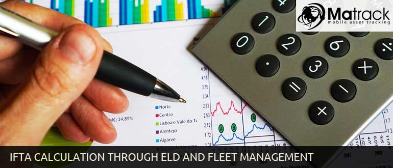 IFTA Calculation through ELD and Fleet management