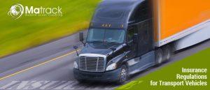 Insurance regulations for transport vehicles