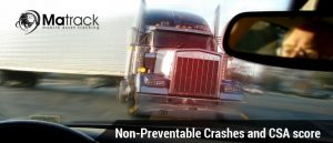Non-preventable crashes and CSA score