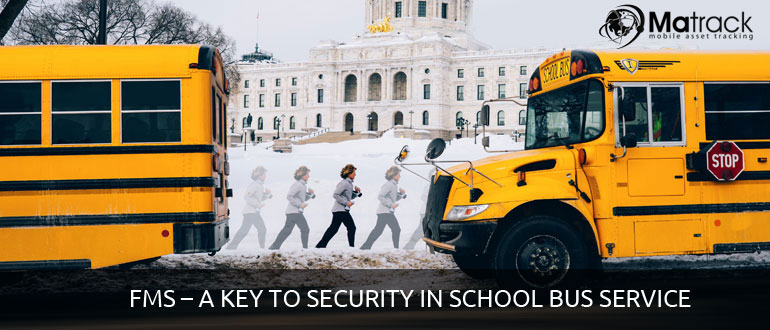 FMS-A key to security in school bus service
