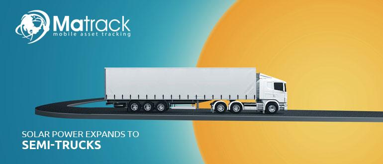 Solar Power Expands To Semi-Trucks