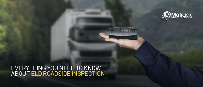 ELD Roadside inspection